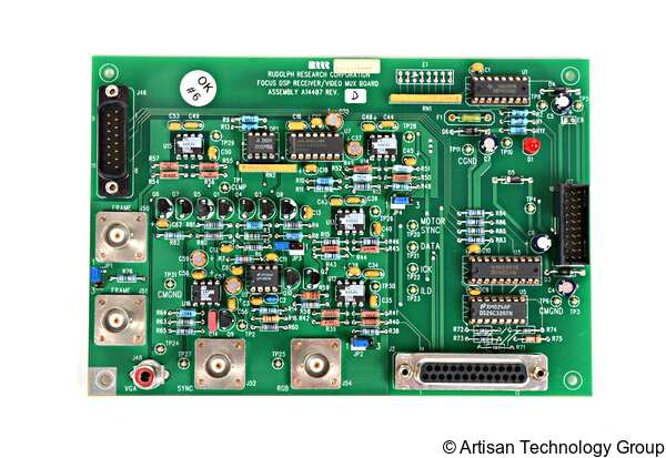 Rudolph Research A14487 Focus DSP Receiver/Video Mux Board