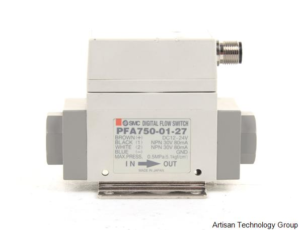 SMC PFA750-01-27 Digital Air Flow Switch