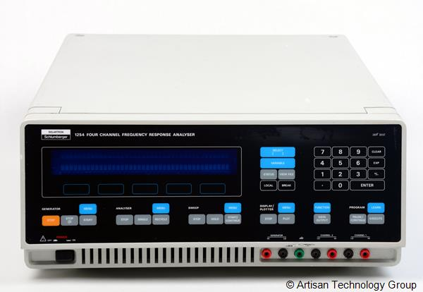 Schlumberger / Solartron 1254 65kHz 4-Channel Frequency Response Analyzer
