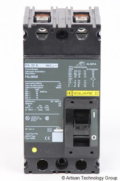 Schneider Electric / Square D FAL26020 F-Frame Molded Case Circuit Breaker