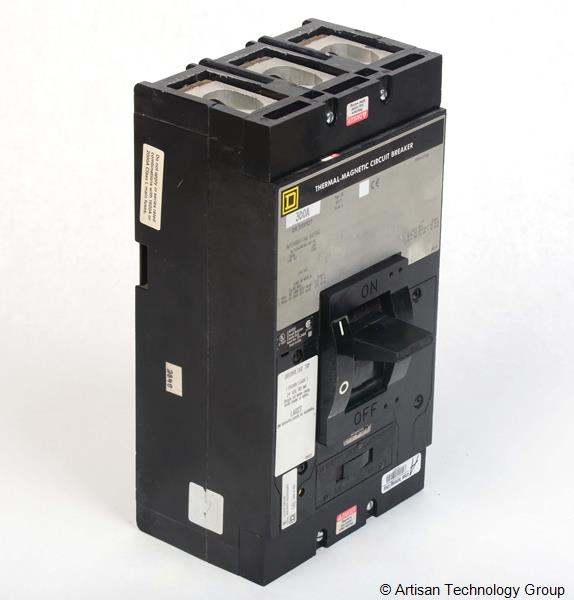 Schneider Electric / Square D Q4L33001127 Thermal-Magnetic Circuit Breaker With Undervoltage Trip