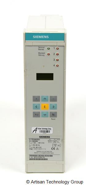 Siemens SIPROTEC 7RW600 Series Numerical Voltage, Frequency and Overexcitation Protection Relays