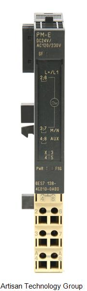 Siemens 6ES7 138-4CB10-0AB0 SIMATIC Power Module with Diagnostic and Fuse