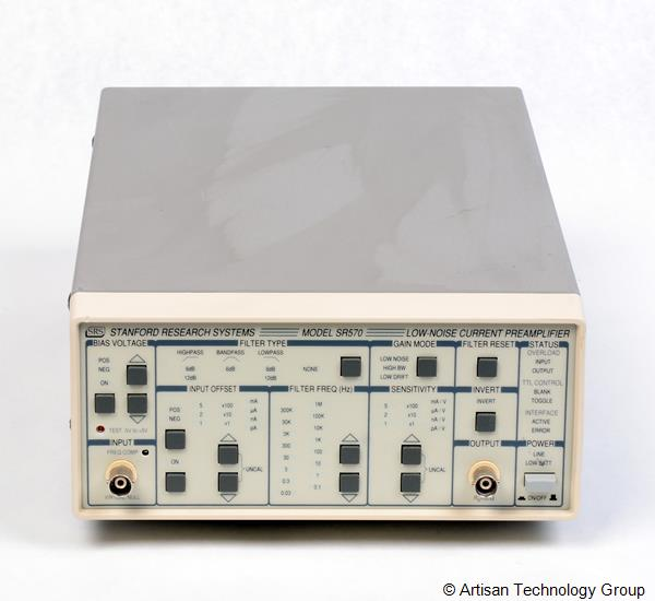Stanford Research SR570 Low-Noise Current Preamplifier