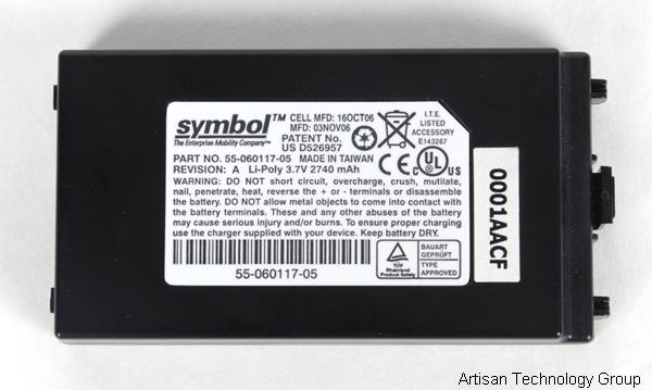 Motorola / Symbol 55-060117-05 Li-Poly 3.7V 2740 mAh Replacement Battery