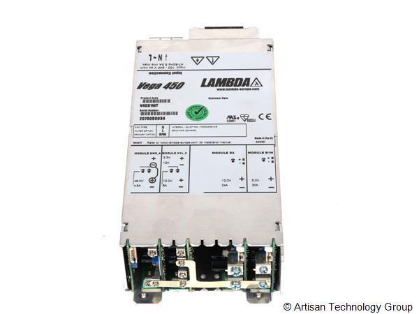 TDK-Lambda Vega 450 Multiple Output Modular Power Supply (48V/4.5A, 3.3V/12A, 12V/6A, 12V/24A, 5V/20A)