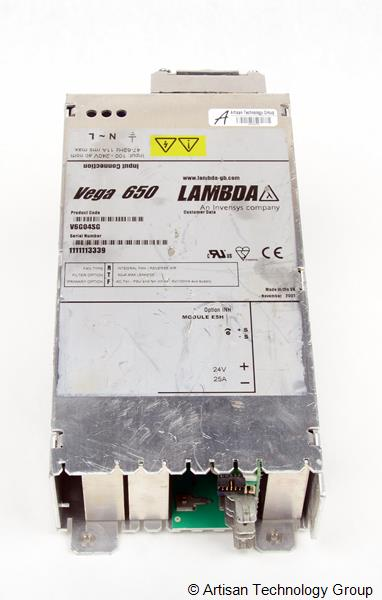 TDK-Lambda Vega 650 Multiple Output Modular Power Supply (24.0V/25A)