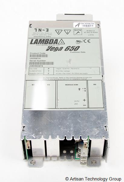 TDK-Lambda Vega 650 Multiple Output Modular Power Supply (24.5V/25A)