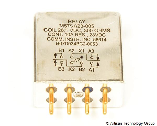 TE Connectivity / Communication Instruments M5757/23 Series Relays