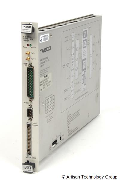 Tasco TVXI/429-8 Multi-Channel ARINC-429 Tester