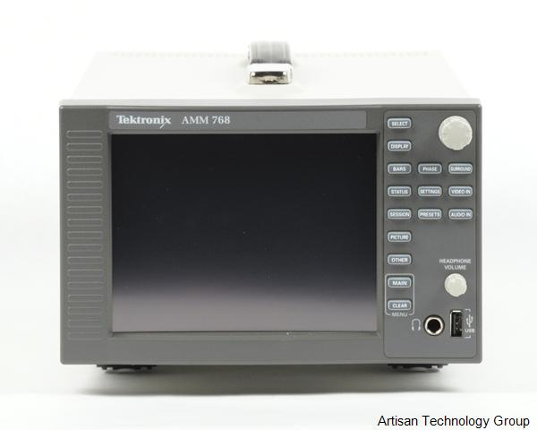 Tektronix AMM768 Audio Multichannel Monitor