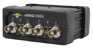 Teradyne eDAQ-1553-1 Single Channel MIL-STD-1553 Test and Simulation Module for Ethernet Networks