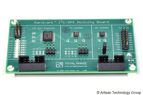 Total Phase I2C/SPI Activity Board