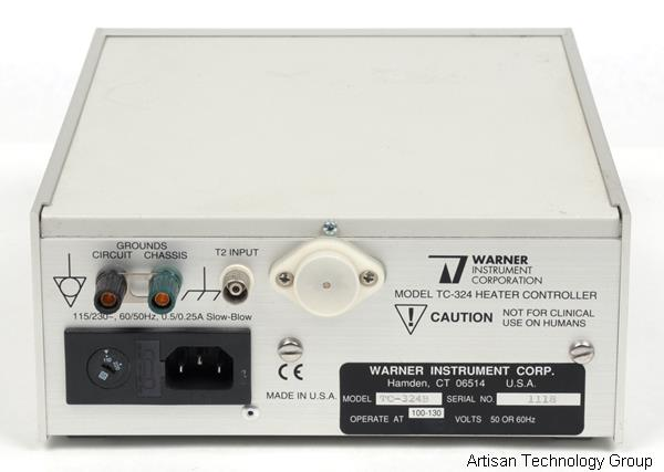 Warner Instruments TC-324B Single Channel Automatic Heater Controller