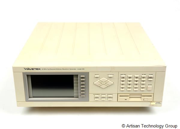 Wavetek 295EM512 50 MHz Synthesized Arbitrary Waveform Generator