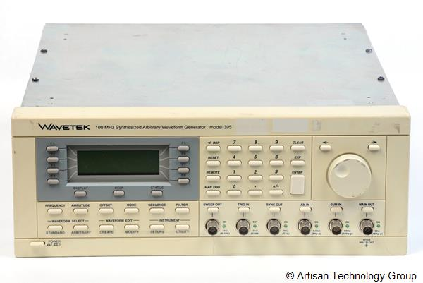 Wavetek 395 100 MHz Synthesized Arbitrary Waveform Generator