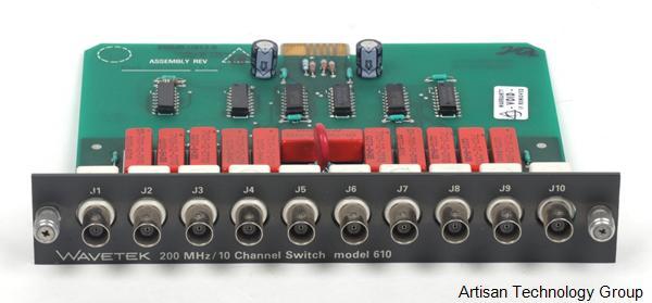 Wavetek 610 200 MHz / 10 Channel Switch